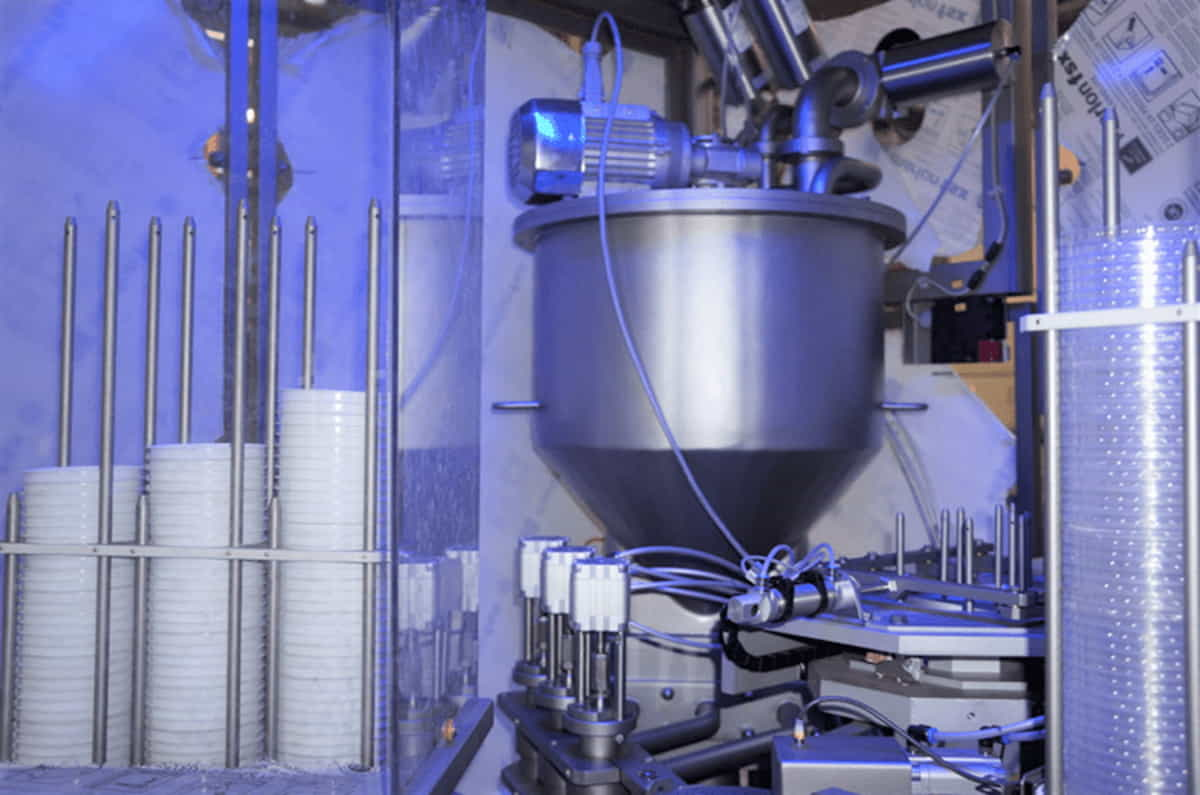 Автомат для фасовки в пластиковую тару – RFS 120