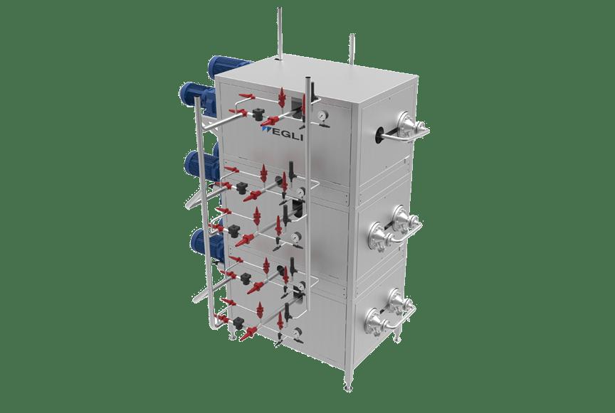 Комбинатор, маслообразователь скребкового типа — ECO