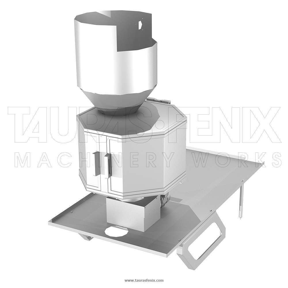 Объемный роторный фрикционный дозатор
