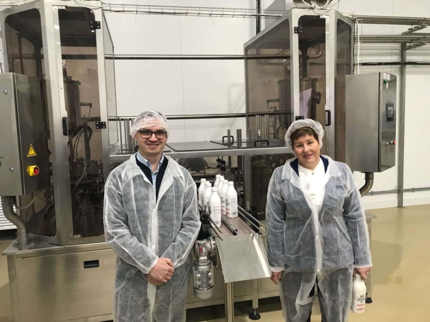 «АгатПак» на открытии нового «Молочного комбината «Казьминский» в Ставрополе.