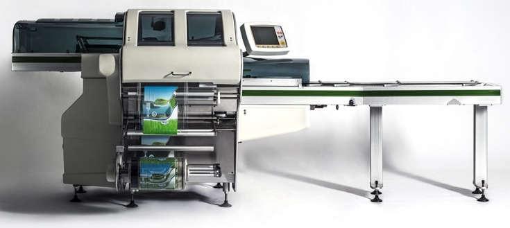 Промышленные линии упаковывания продуктов с применением стрейч-плёнки
