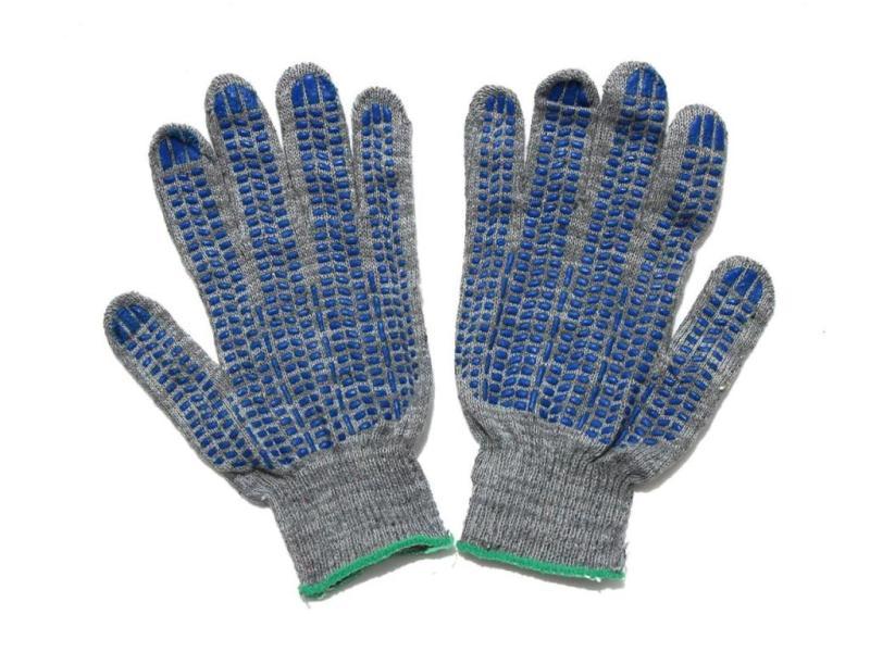 Перчатки х/б 10 класс вязки «Средние» серые