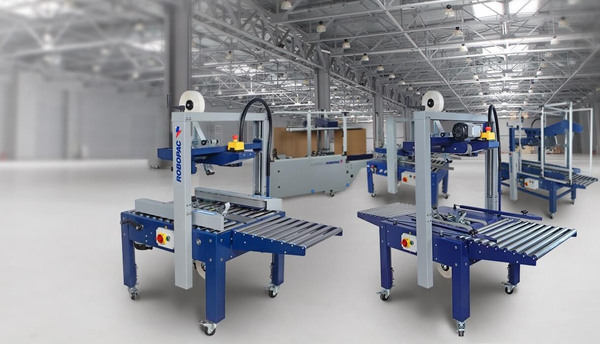 Обновленные заклейщики коробов Robopac Robotape