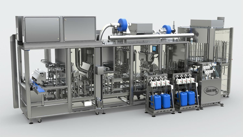 Аппарат ПАСТПАК 4Л ULTRA CLEAN PRO для фасовки в пластиковую тару